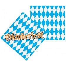 Serviettes en papier pour la fête de la bière aussi appelé Oktoberfest en Allemagne