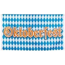 Drapeau de la fête de la bière aussi appelé Oktoberfest