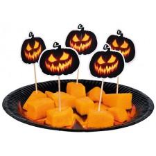 Pics pour amuse-bouches sur le thème d'Halloween idéal pour accompagner une décoration de table