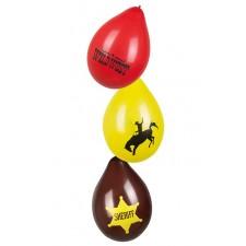 Ballons pour décoration sur le thème du Far West ou du Western