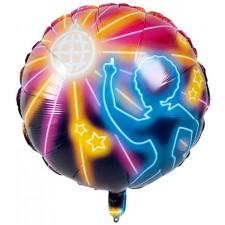 Ballon alu disco gonflable à l'hélium