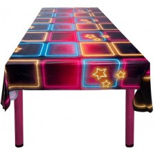 Nappe pour décoration sur le thème disco