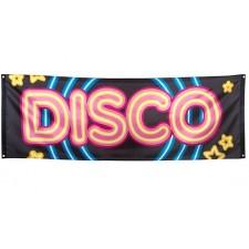 Banderole pour soirée Disco