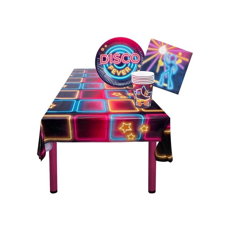 Pack de décorations de table sur le thème disco