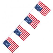 Guirlande fanion avec drapeau des USA