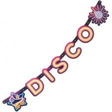 Guirlande disco pour soirée à thème