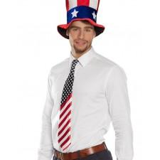 Cravate drapeau des Etats-Unis adulte