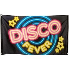 Décoration disco drapeau