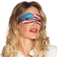 Masque loup drapeau USA Etats-Unis