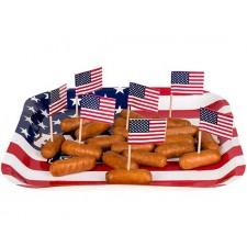 Pic apéritif drapeau USA