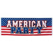 Banderole USA soirée américaine