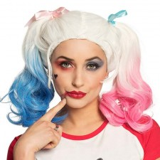 Perruque style Harley Quinn