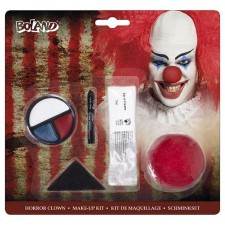 Maquillage pour clown d'Halloween