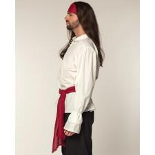 Set bandeau rouge avec ceinture pirate