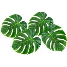 Accessoire de décoration de table thème tropical jungle