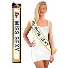Écharpe de miss sexy