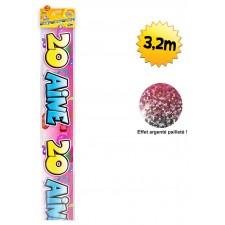 Banderole 20 ans de 3,20 mètres