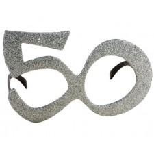 Lunettes argent pour anniversaire 50 ans